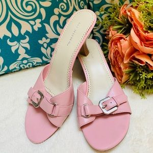 Merona Leather Heel in Blush Pink